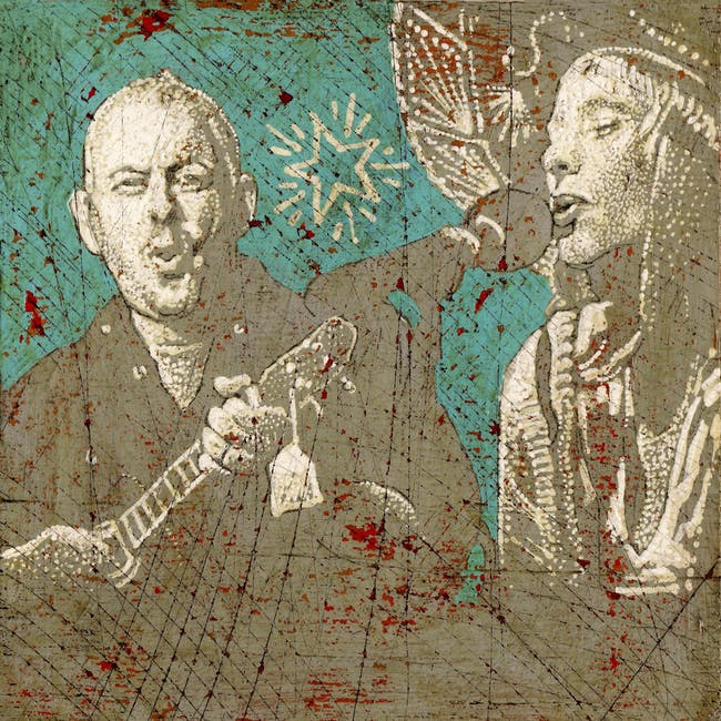 Jon Langford and Sally Timms