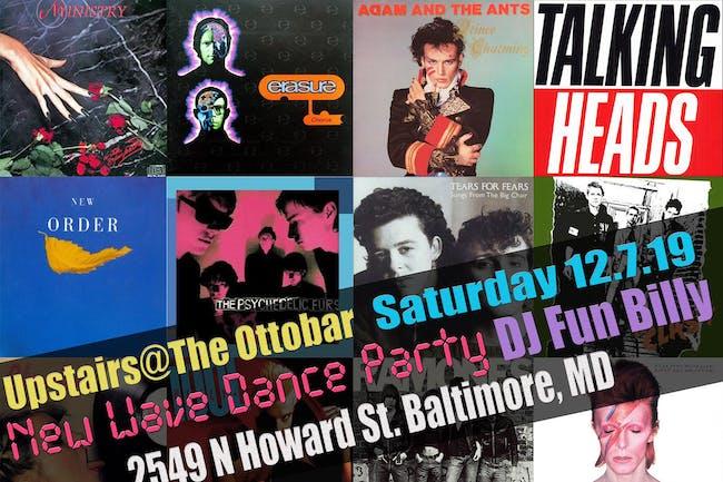 New Wave Dance Party w/ DJ Fun Billy