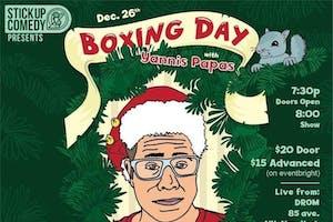 Boxing Day, Yannis Pappas Live