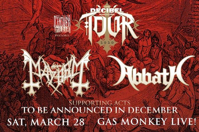 The Decibel Magazine Tour feat. Mayhem, Abbath + More