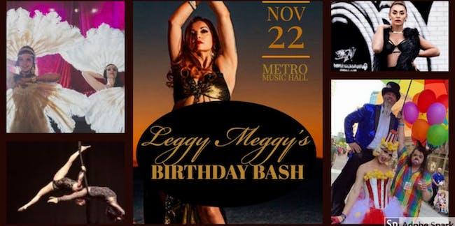 Leggy Meggy's Birthday Bash