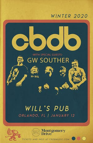 CBDB w/ Special Guests GW Souther