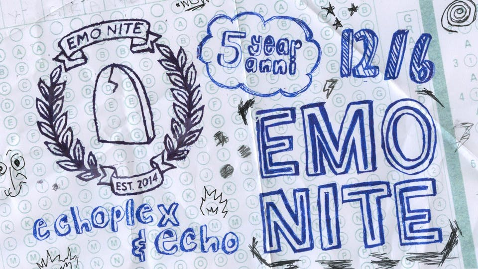 EMO NITE: CLASS OF 2019