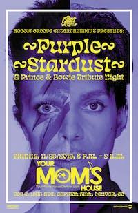Purple Stardust: A Prince & Bowie Tribute Night