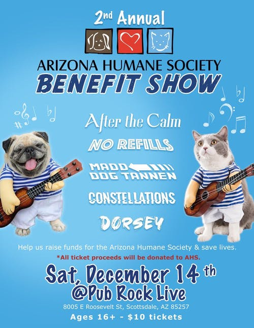 AHS Benefit Show with After The Calm