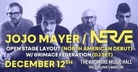 Jojo Mayer / Nerve Presents: Open Stage Layout