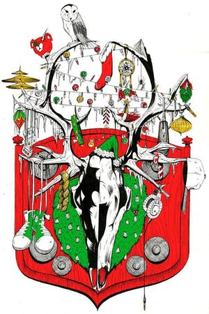 Red Black and Green Christmas ft. Muamin Collective + TBA