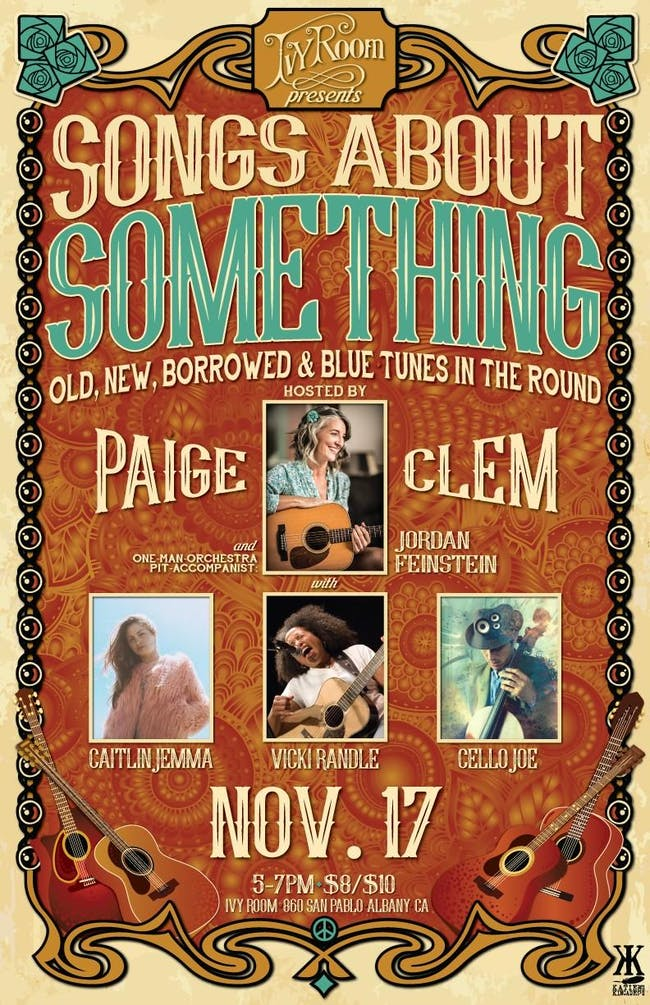 Songs About Something: Paige Clem, Vicki Randle, Cello Joe & Caitlin Jemma