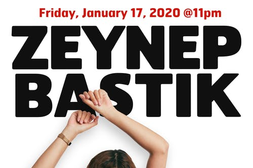 Zeynep Bastik in New York