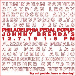 Effected 4: The Philadelphia Pedal Pop-Up
