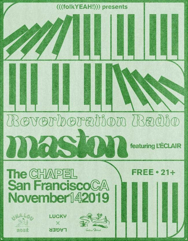 Reverberation Radio DJ set + Maston