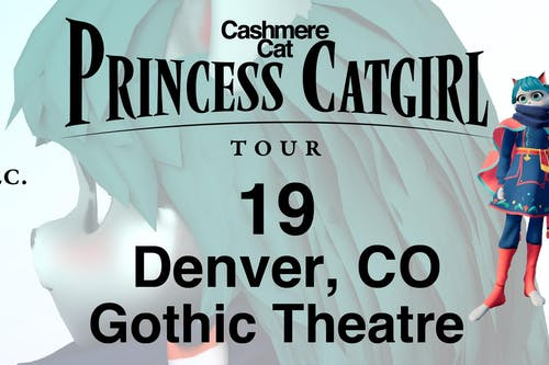 BINGO! Win tickets to see CASHMERE CAT at the GOTHIC on December 19th