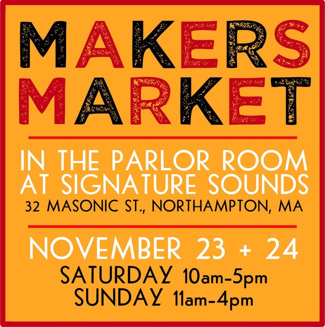 Makers Market (Saturday) at The Parlor Room