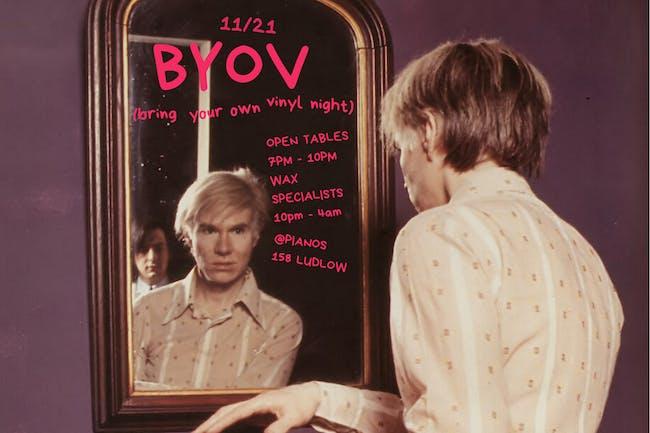 Manhattan Wax Center: BYOV Night (Free)