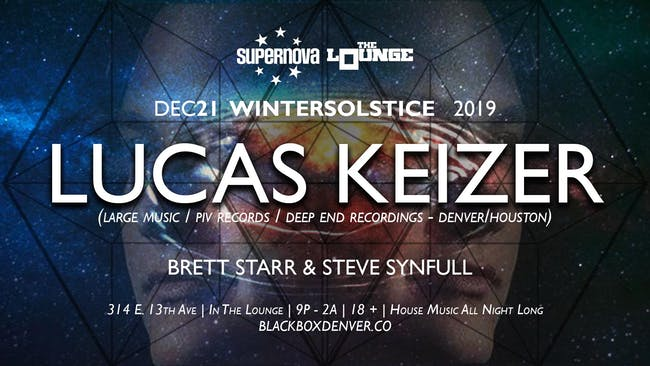 Supernova House Music presents Lucas Keizer