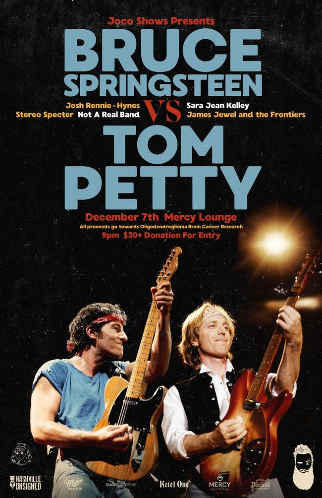 Bruce Springsteen vs Tom Petty Tribute