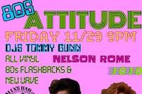 Attitude - an 80's night