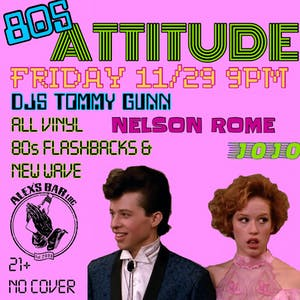 Attitude - an 80's night