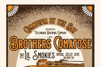 The Brothers Comatose with The Lil Smokies, Royal Jelly Jive