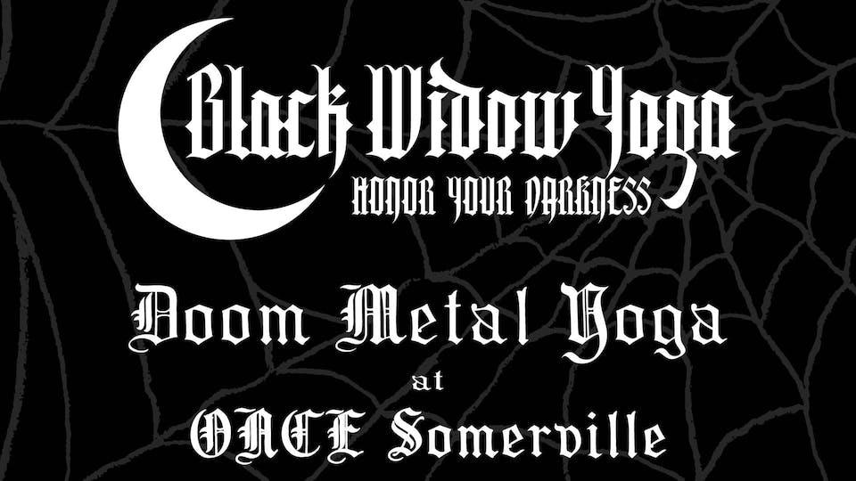DOOM Metal Yoga at ONCE Somerville