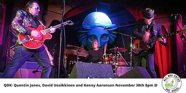 QDK// Quentin Jones, David Uosikkinen and Kenny Aaronson