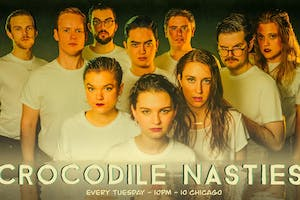 HAROLD NIGHT w/ Crocodile Nasties &  Stunt Double