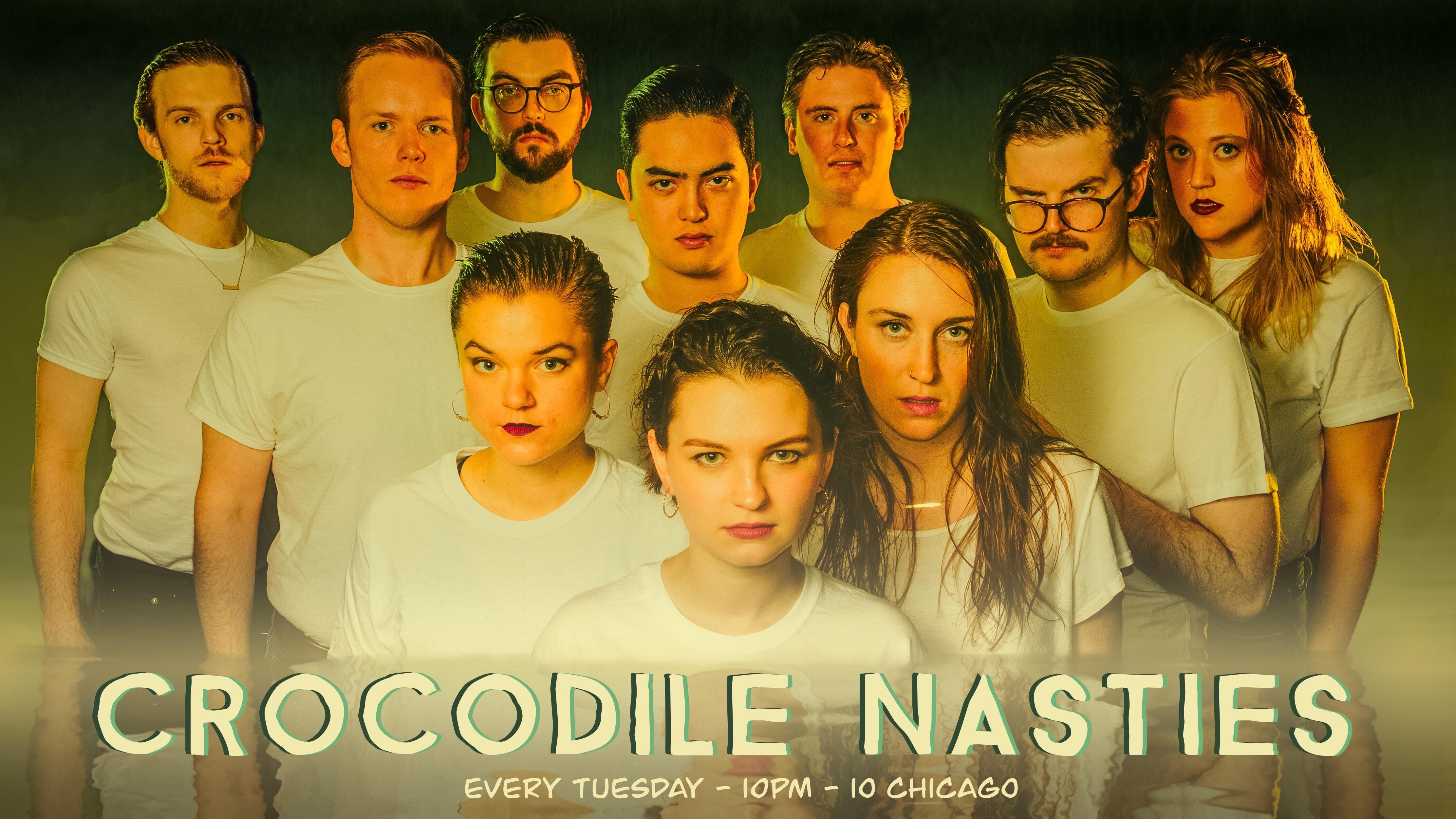 HAROLD NIGHT w/ Crocodile Nasties &  Stunt Double