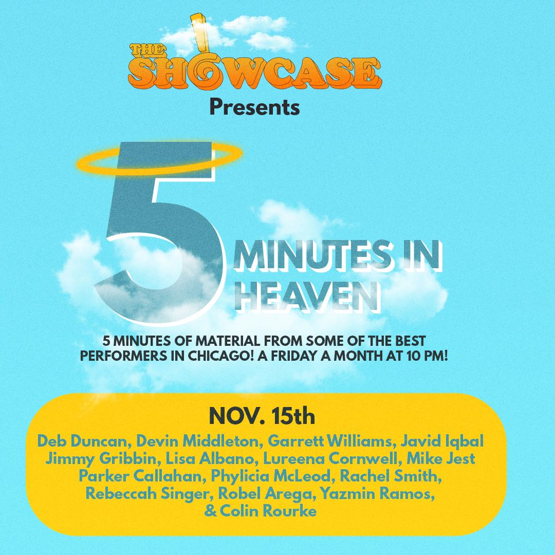 The iO Showcase Presents: Five Minutes in Heaven