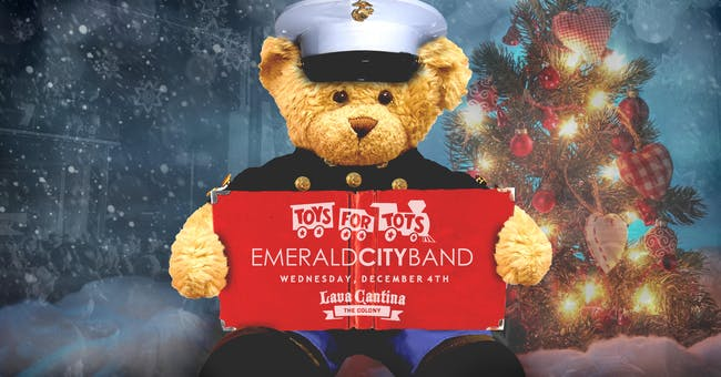 Emerald City Band - Toys for Tots Drive