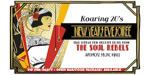 Roaring 20s New Years Soirée w/ High-Energy NOLA Brass from The Soul Rebels
