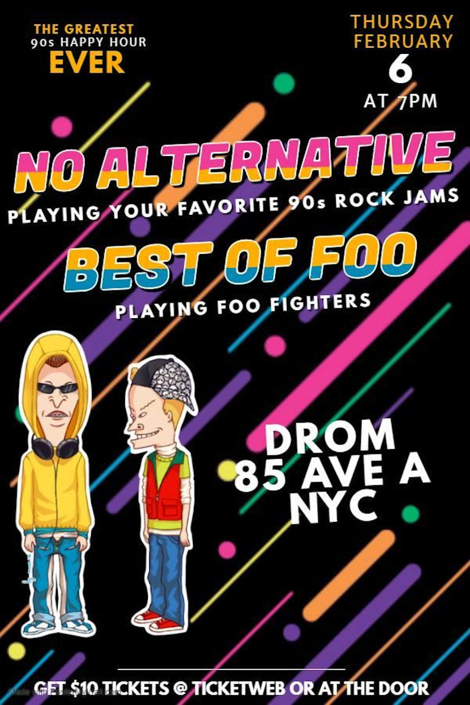 No Alternative Band