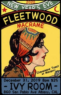 NEW YEARS EVE with FLEETWOOD MACRAMÉ at the IVY ROOM