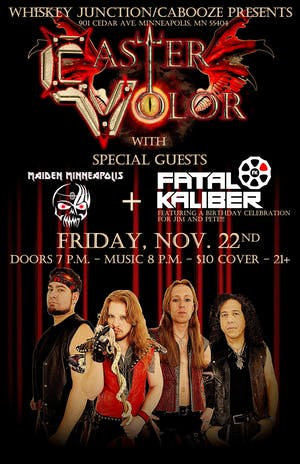 *Whiskey Junction* Caster Volor with Maiden Minneapolis and Fatal Kaliber