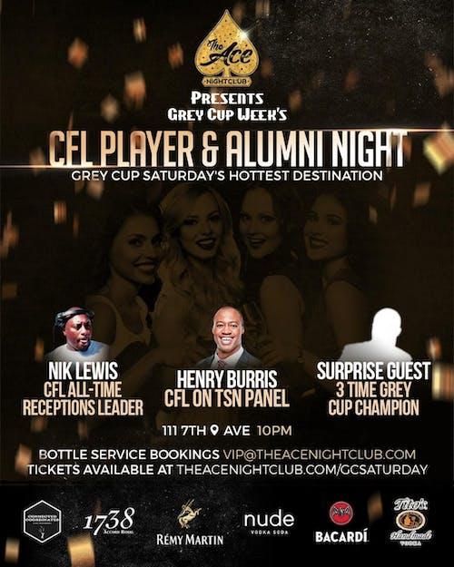 CFL Player & Alumni Night