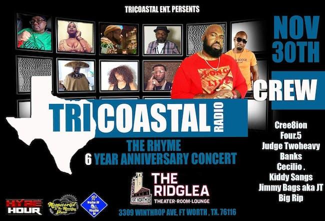 Tricoastal 6yr Anniversary Concert