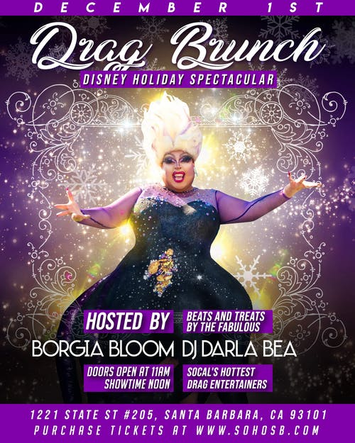 Drag Brunch Holiday Spectacular!