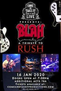 BLAH: A Tribute to Rush