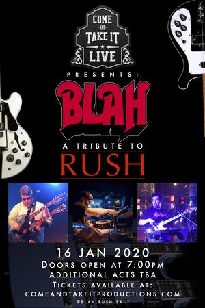 BLAH: A Tribute to Rush