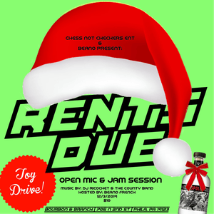 RENTS DUE (open mic/jam session)