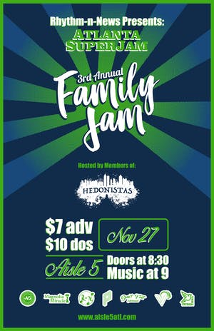 Atlanta SuperJam : 3rd Annual Family Jam
