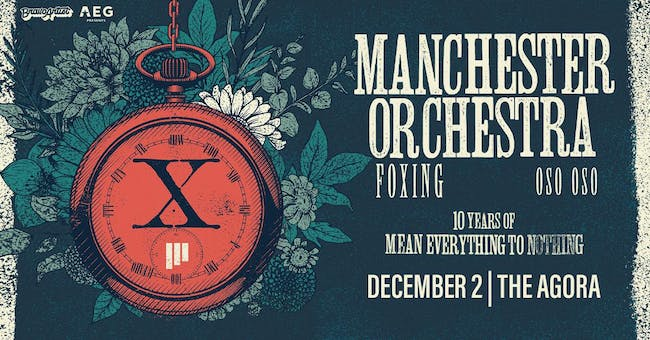 "Manchester Orchestra ""Mean Everything to Nothing"" 10 Year Tour"