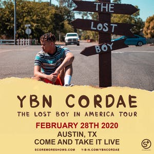 YBN CORDAE: The Lost Boy In America Tour