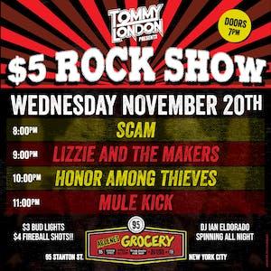 $5 Rock Show