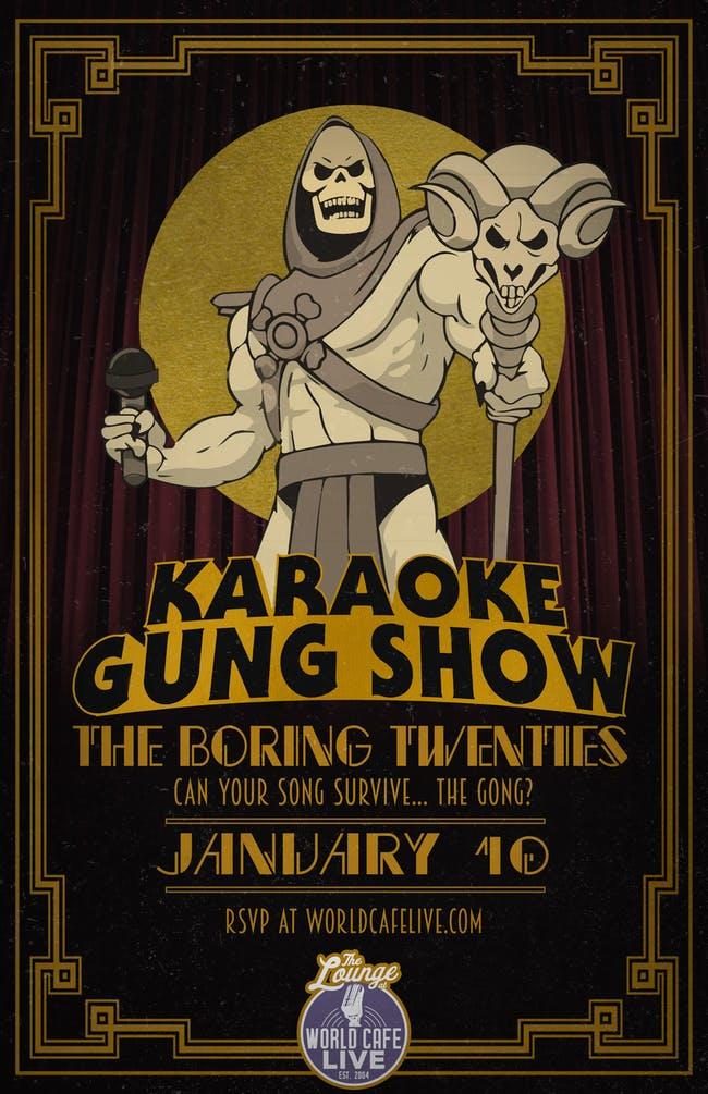 Karaoke Gung Show: The Boring Twenties
