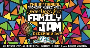 5th Annual New Year's Eve (Day) Family Jam w/ Alex & the Kaleidoscope