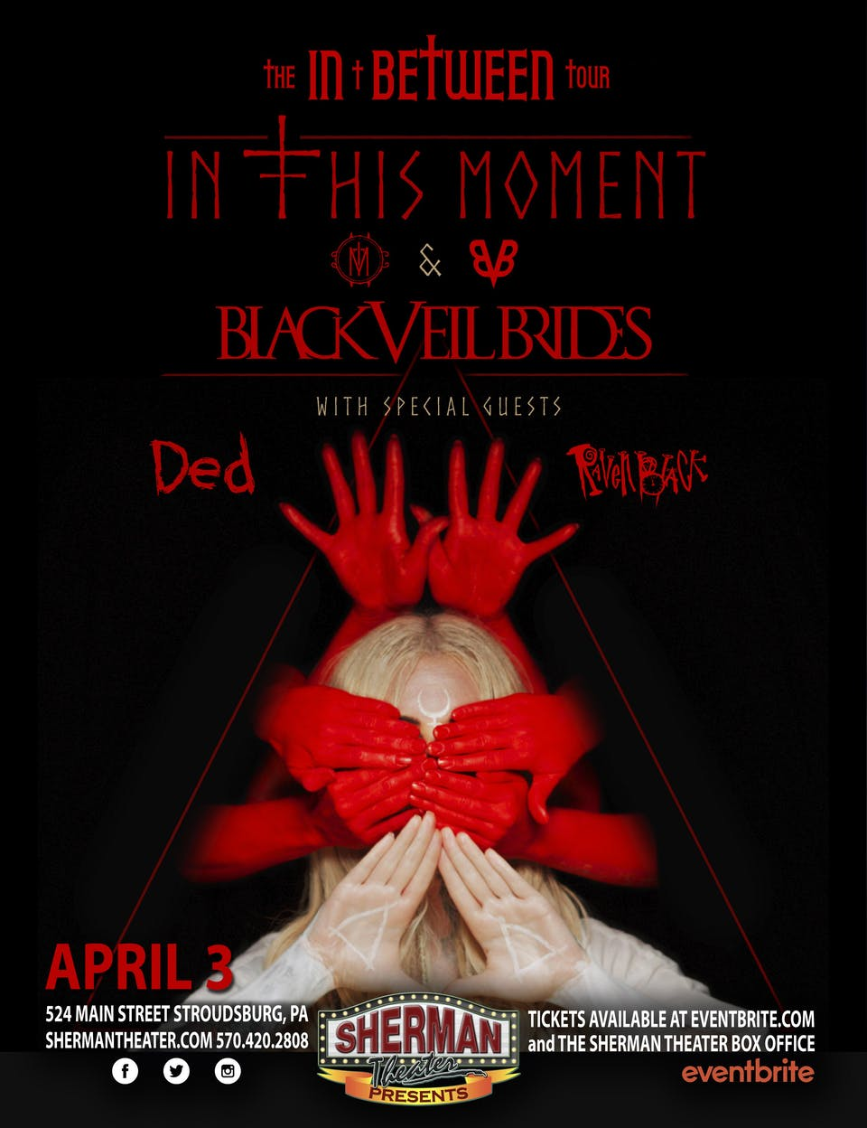 POSTPONED: In This Moment and Black Veil Brides