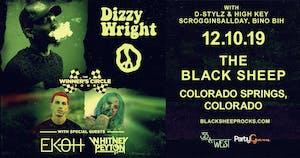 Rittz & Dizzy Wright w/ Ekoh, Whitney Peyton + More AT THE BLACK SHEEP