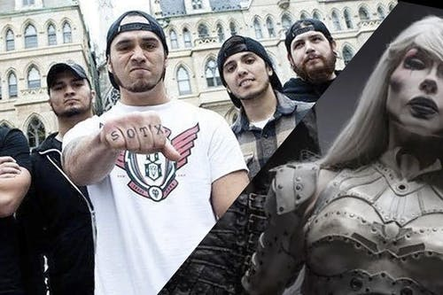 Sons of Texas with September Mourning, Saints of Never After