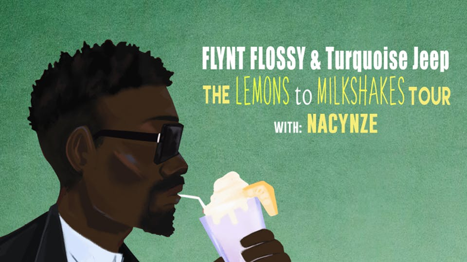 FLYNT FLOSSY AND TURQUOISE JEEP with Nacynze