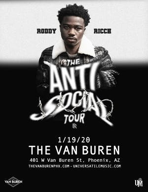 Roddy Ricch - The Anti Social Tour